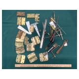 Assorted Hinges and Tools