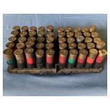 (50) Assorted 12 ga. Shells in tray