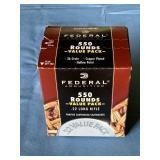 Federal .22 LR ammunition Sealed Box (Brick)