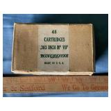 (1) Winchester .303 ammunition