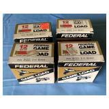 """(4) Federal Game Load 12 ga. 2.75"""" Shells"""
