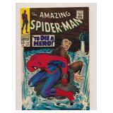 MARVEL COMICS AMAZING SPIDER-MAN #52 SILVER AGE