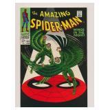 MARVEL COMICS AMAZING SPIDER-MAN #63 SILVER AGE