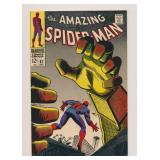 MARVEL COMICS AMAZING SPIDER-MAN #67 SILVER AGE