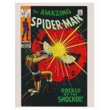 MARVEL COMICS AMAZING SPIDER-MAN #72 SILVER AGE