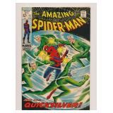 MARVEL COMICS AMAZING SPIDER-MAN #71 SILVER AGE