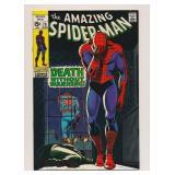MARVEL COMICS AMAZING SPIDER-MAN #75 SILVER AGE