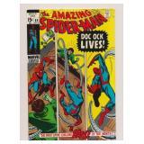 MARVEL COMICS AMAZING SPIDER-MAN #89 SILVER AGE