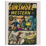 CANAM PUB. GUNSMOKE WESTERN #45 SILVER AGE
