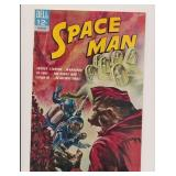 DELL COMICS SPACE MAN #4 SILVER AGE