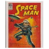 DELL COMICS SPACE MAN #2 SILVER AGE
