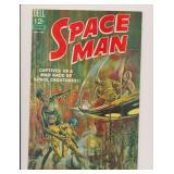 DELL COMICS SPACE MAN #5 SILVER AGE