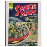 DELL COMICS SPACE MAN #6 SILVER AGE