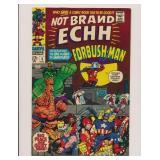MARVEL COMICS NOT BRAND ECHH #5 SILVER AGE-KEY