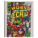 MARVEL COMICS NOT BRAND ECHH #10 SILVER AGE