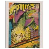 CHARLTON COMICS REPTILICUS #1 GOLDEN AGE