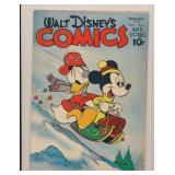 WALT DISNEY COMICS & STORIES #5 GOLDEN AGE