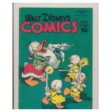 WALT DISNEY COMICS & STORIES #4 GOLDEN AGE