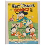 DELL WALT DISNEY COMICS & STORIES #8 GOLDEN AGE