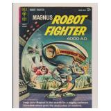 GOLD KEY MAGNUS ROBOT FIGHTER #4 SILVER AGE