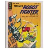 GOLD KEY MAGNUS ROBOT FIGHTER #5 SILVER AGE