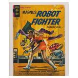 GOLD KEY MAGNUS ROBOT FIGHTER #7 SILVER AGE