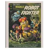 GOLD KEY MAGNUS ROBOT FIGHTER #6 SILVER AGE