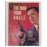 GOLD KEY MAN FROM U.N.C.L.E. #1 SILVER AGE KEY