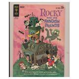 GOLD KEY ROCKY & FIENDISH FRIENDS #1 SILVER AGE