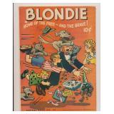 FEATURE BOOK BLONDIE #45 GOLDEN AGE
