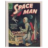 DELL COMICS SPACE MAN #1253 SILVER AGE