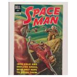 DELL COMICS SPACE MAN #3 SILVER AGE