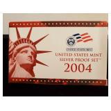 2004 U.S. Mint Proof Set