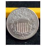 1883 5 Cent Piece