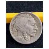 1913 S Type 2 Buffalo Nickel Very Rare