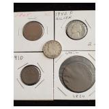(5) Coins