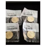 (4) Sacagawea Dollars  2001 - 2003