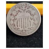 1882  5 Cent Piece