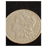1884  Morgan Silver Dollar High Grade
