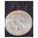 1925 Morgan Silver Dollar