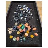(2) Bags of Jewelry Stones