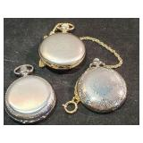 (3) Legere Pocket Watches