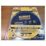 """NIB DeWalt Woodworking Sawblade 10"""""""