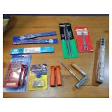 Cutting Chain Files, Multimeter, Wrench Sockets