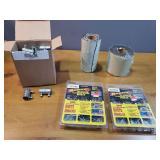 Metal Foil Rolls, Rivets, Screw Couplings