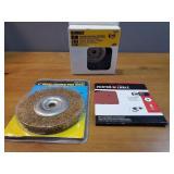Brass & Steel Crimped Wire Wheel, Sander Disks