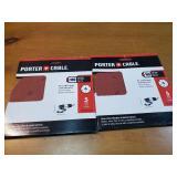 """Porter Cable 6"""" Stick on Sander Disks"""