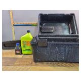 Chain Saw Case With Oil