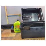 Chain Saw Case and Oil