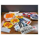 Stickers, Car Ads, Autosports Magazine
